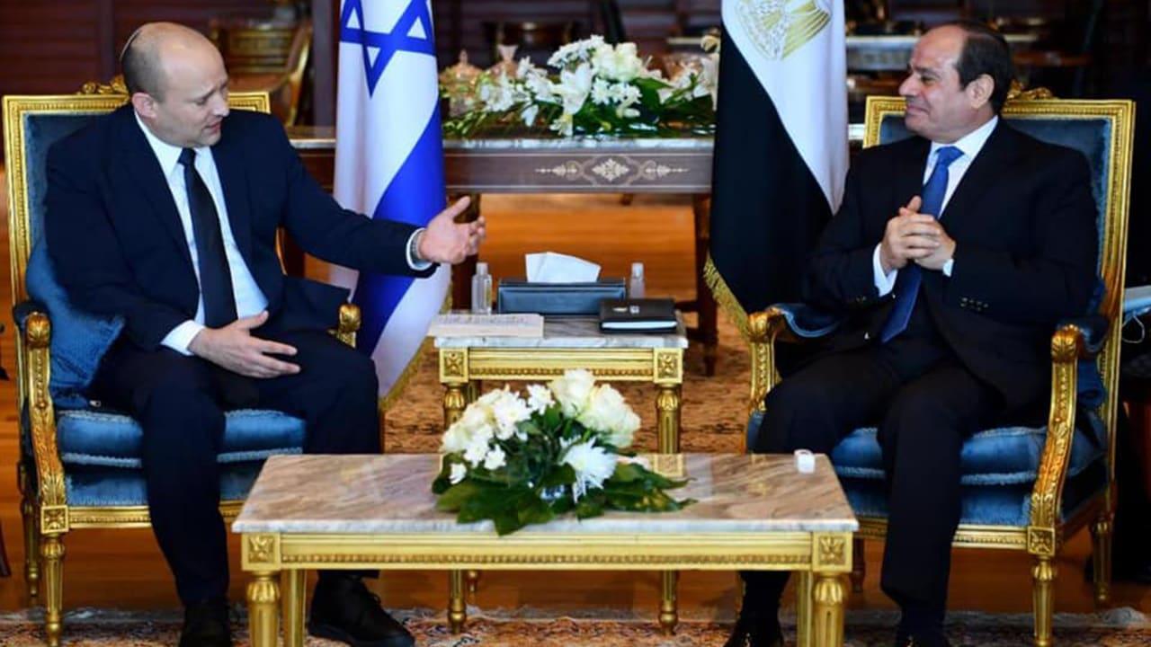 السيسي: وجدت تفاهمًا مشتركًا لدي رئيس وزراء إسرائيل بشأن قضية سد النهضة
