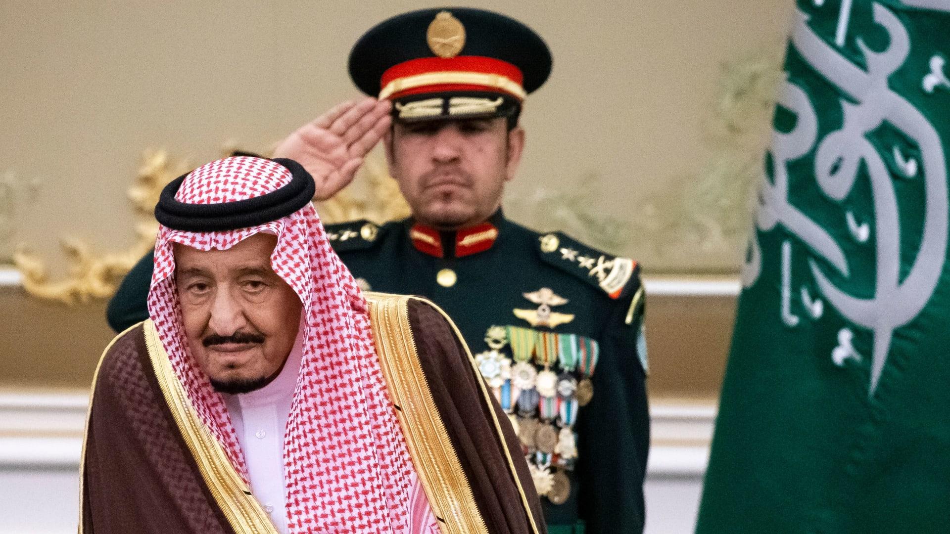صورة أرشيفية للعاهل السعودي الملك سلمان 2019