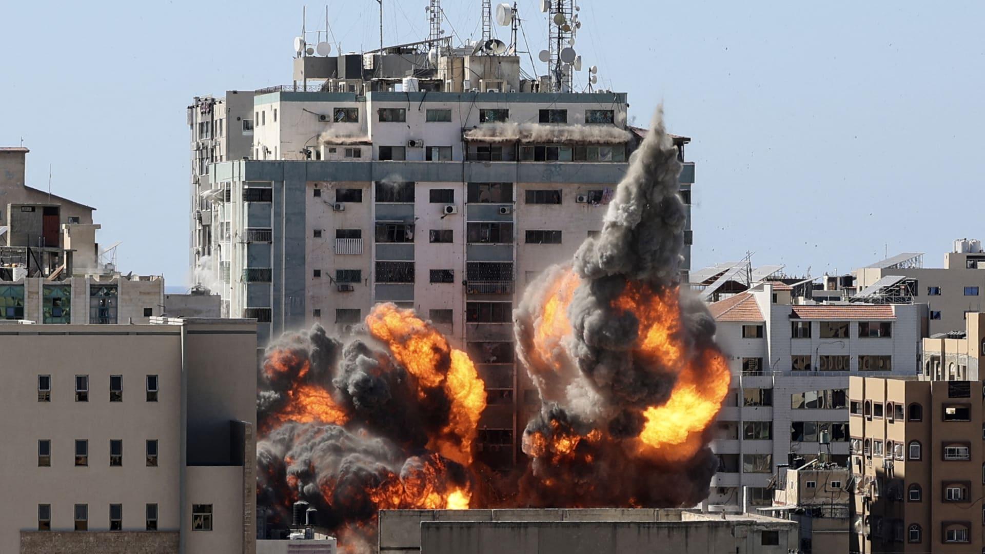 مبنى الجلاء في غزة