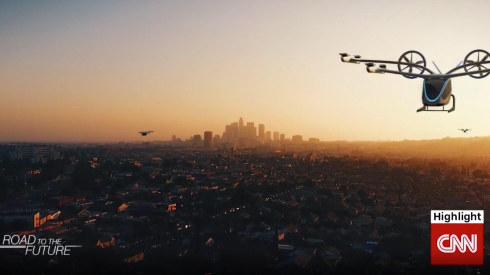 السيارات الطائرة خيال علمي بات يقترب من الواقع