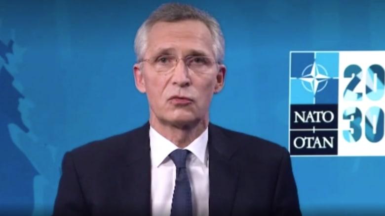الأمين العام لحلف الناتو لـCNN: برنامج إيران الصاروخي مصدر قلق لجميع حلفاء الناتو