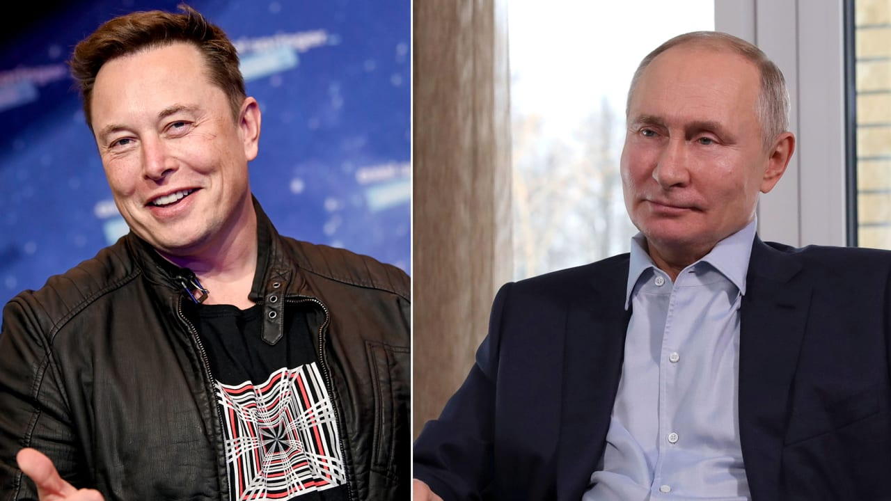 الكرملين يرد على دعوة إيلون موسك لفلاديمير بوتين إلى Clubhouse.. ماذا قال؟