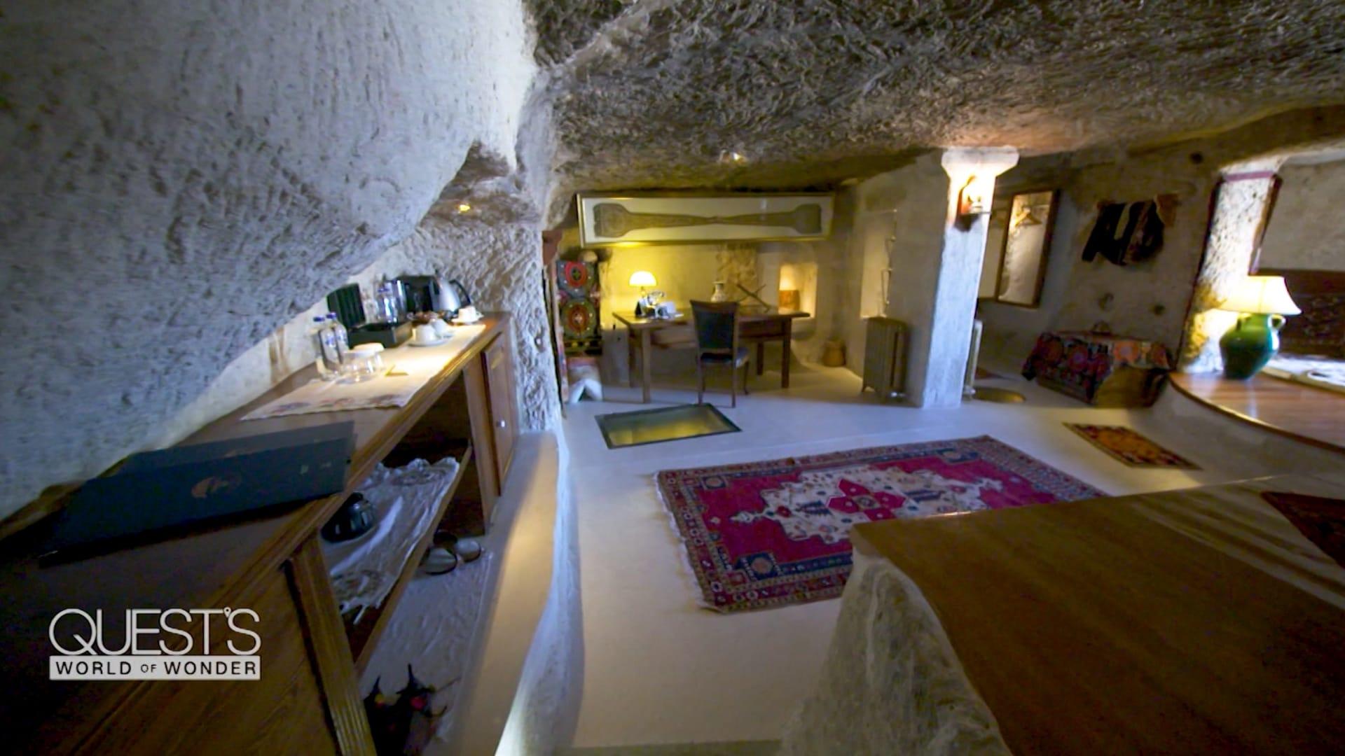 يستقبل الملوك.. فندق مبني في كهوف عمرها 1000 عام في تركيا