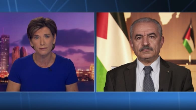 رئيس الوزراء الفلسطيني لـCNN: نتنياهو أراد البقاء في السلطة من خلال التصعيد